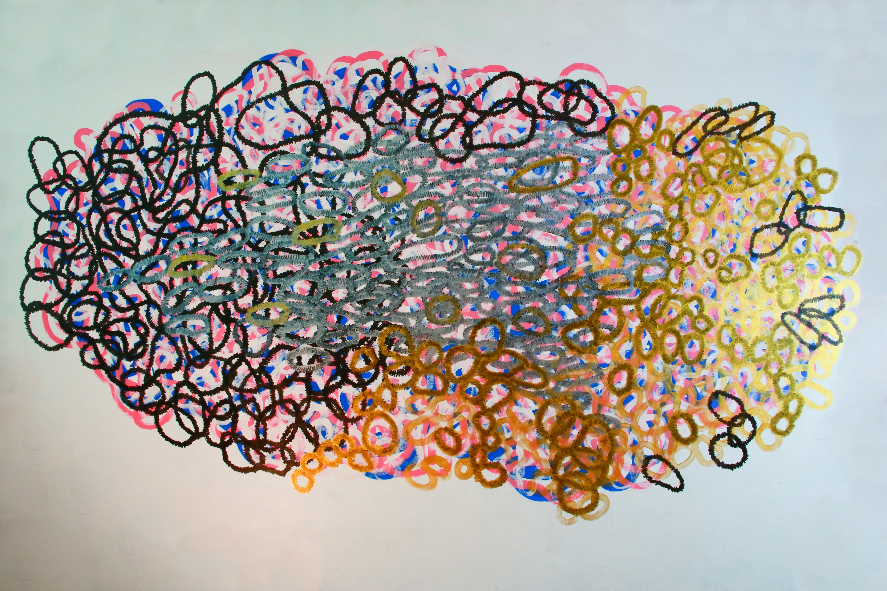 Lyn Horton, The Naga, 2014, wall drawing, 70 inches h x 128 inches w, house paint & pigmented pen WEB.jpg
