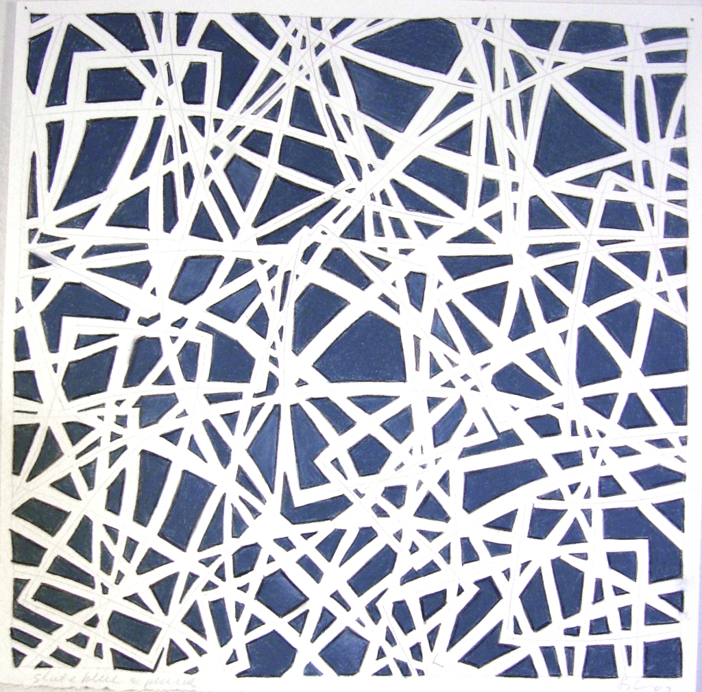 11 x 11 slate gray & pencil, 07