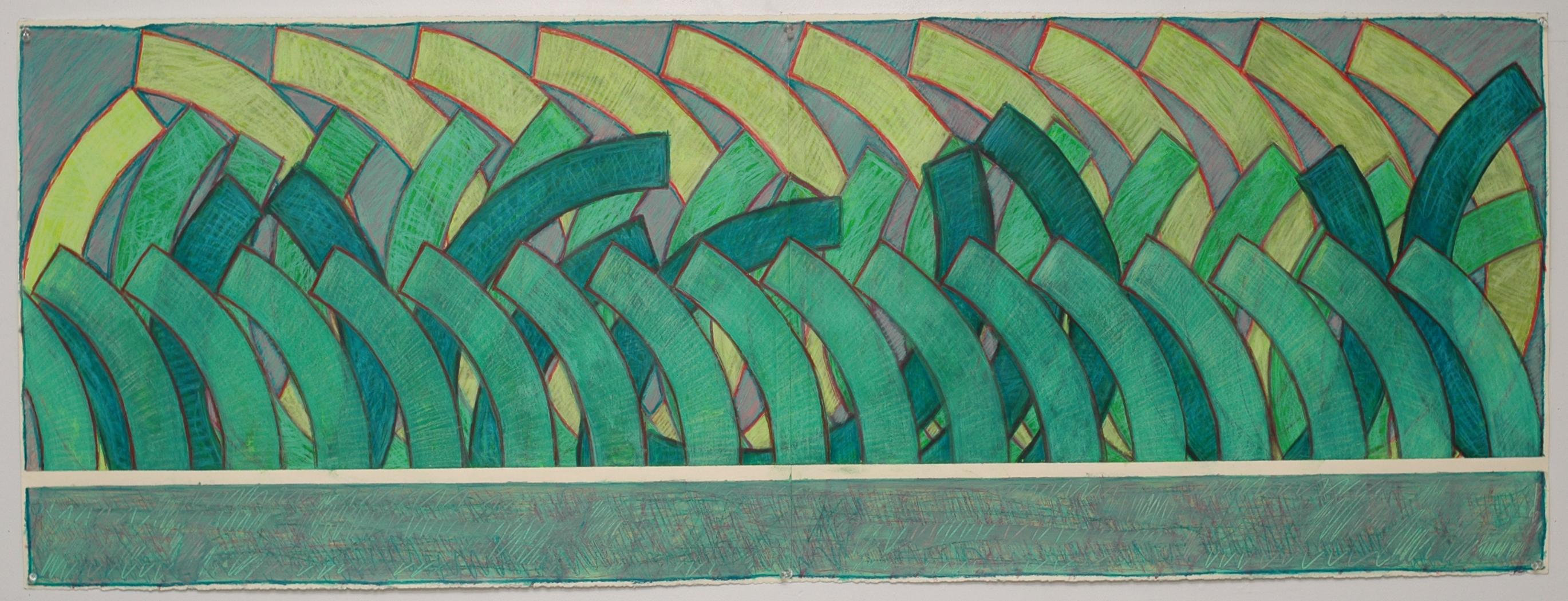 Breaking thru the Wall (green)